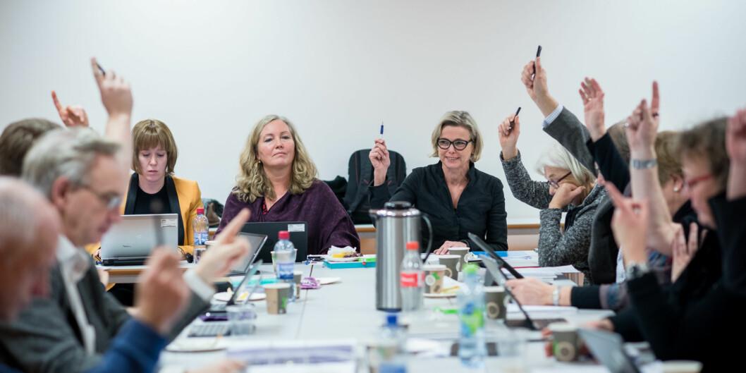 I mai skal de interne representantene til nytt styre på Høgskolen i Oslo og Akershusvelges. Foto: Skjalg Bøhmer Vold