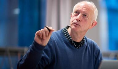 Professor Anton Havnes vil foreslå å ikke vedta OsloMet på styremøtet 15.desember 2017. Foto: Skjalg Bøhmer Vold