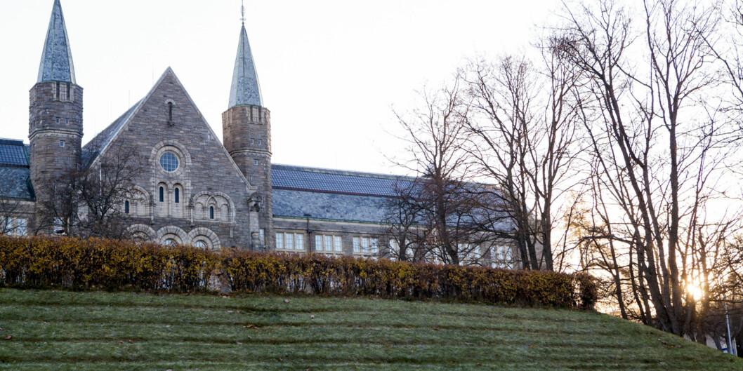 NTNU i Trondheim nekter sammen med de andre universitetene å gi ut resultater av arbeidsmiljøundersøkelsene i sektoren for de enkelte fakultet og institutt, på tross av at klageorganet har avgjort at de ikke røper personopplysninger, og skal gis ut. Foto: Nicklas Knudsen