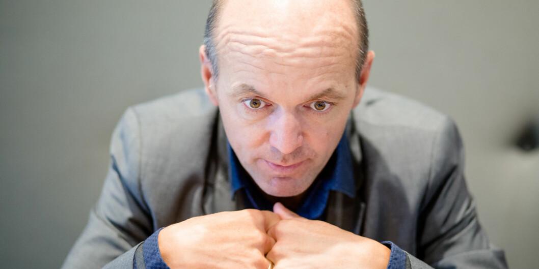 """— Du kan godt kalle forslaget vårt en desentralisering av makt, sier ass.dir i <span class=""""caps"""">NIFU</span>, KyrreLekve. Foto: Eskil Wie"""