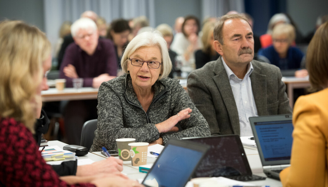 Agneta Bladh er medlem i det sittende høgskolestyret vedHiOA. Foto: Skjalg Bøhmer Vold