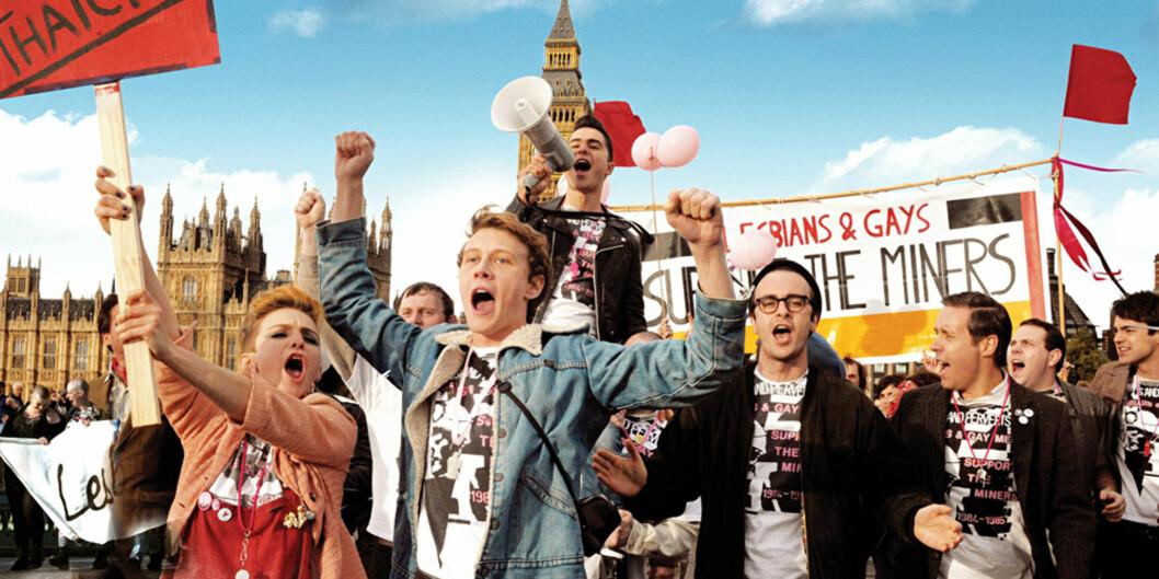 Fra filmen Pride som har premiere første juledag. Foto:Arthaus