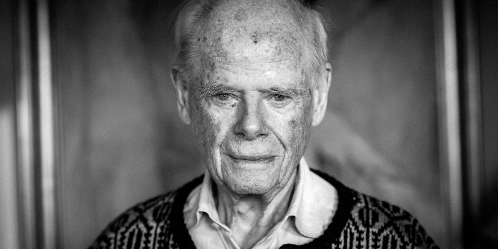 Bernt H. Lund mente også at pensjonsalderen burde bli høyere. For 20 årsiden. Foto: Skjalg Bøhmer Vold