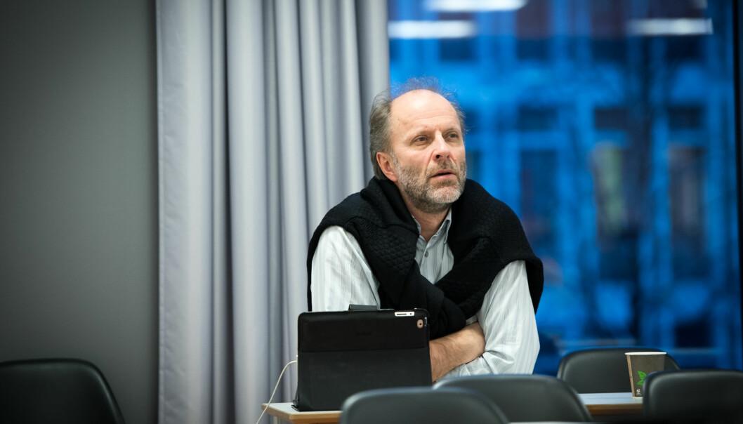 Instituttleder Dag Karterud ved Institutt for sykepleie Foto: Skjalg Bøhmer Vold