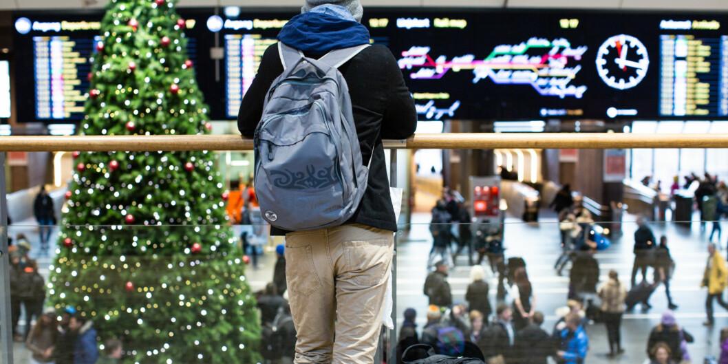 For en del studenter kan det være vanskelig å dra hjem til jul og skulle være den personen de var før de flyttethjemmefra. Foto: Wanda Nathalie Nordstrøm