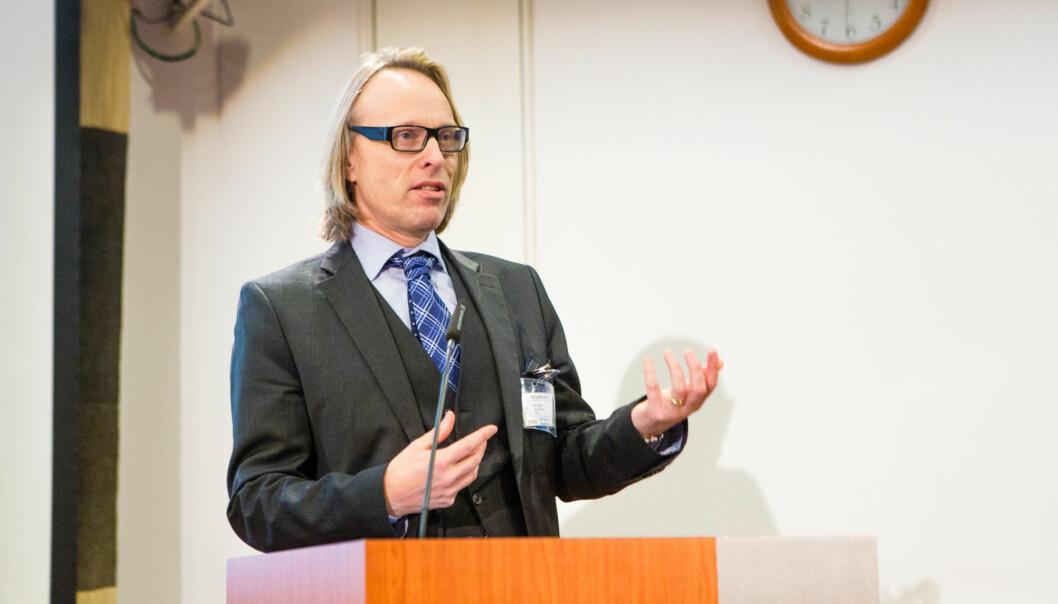 Seminar med Produktivitetskommisjonen. Morten Irgens. Foto: Wanda Nathalie Nordstrøm
