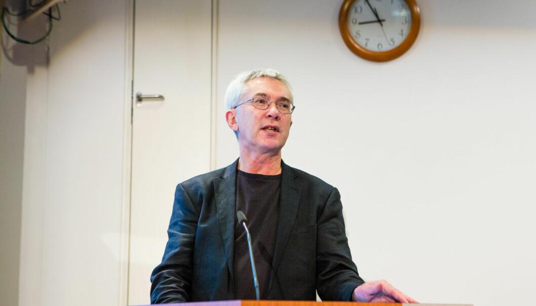 Professor Jørn Rattsø har ledet Produktivitetskommisjonen, som la fram sin andre rapport i februar iår. Foto: Wanda Nathalie Nordstrøm