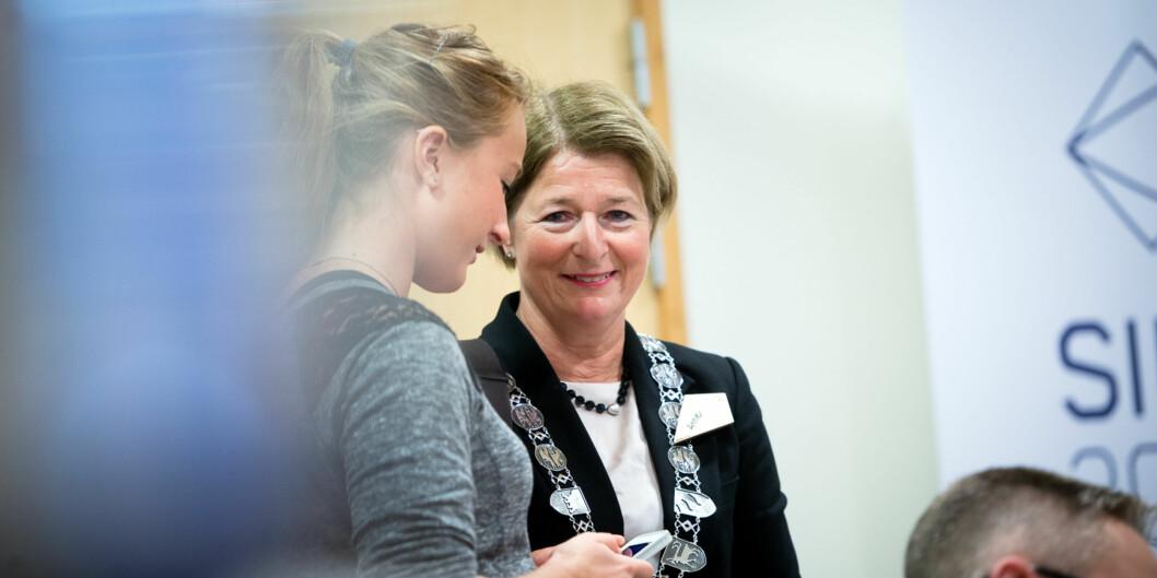 Innleggsforfatteren reagerer på rektor Anne Husebekks signaler om en revisjon av forberdende prøver - ex.phil - ved universitetene. Foto: Skjalg Bøhmer Vold