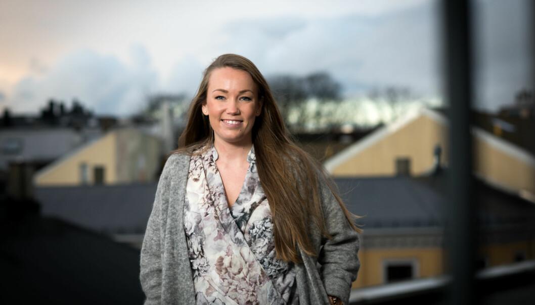 Kristine Masdal Aadne kom igjennom hele uttaksprosessen i Talentjakten. Nå håper hun det skal gi luft under vingene ikarrieren. Foto: Skjalg Bøhmer Vold