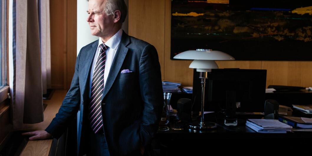Ole Petter Ottersen er valgt rektor ved Universitet i Oslo, og han tror universitet fortsetter med valgt og ikke ansatt rektor når hans periode erover. Foto: Wanda Nathalie Nordstrøm