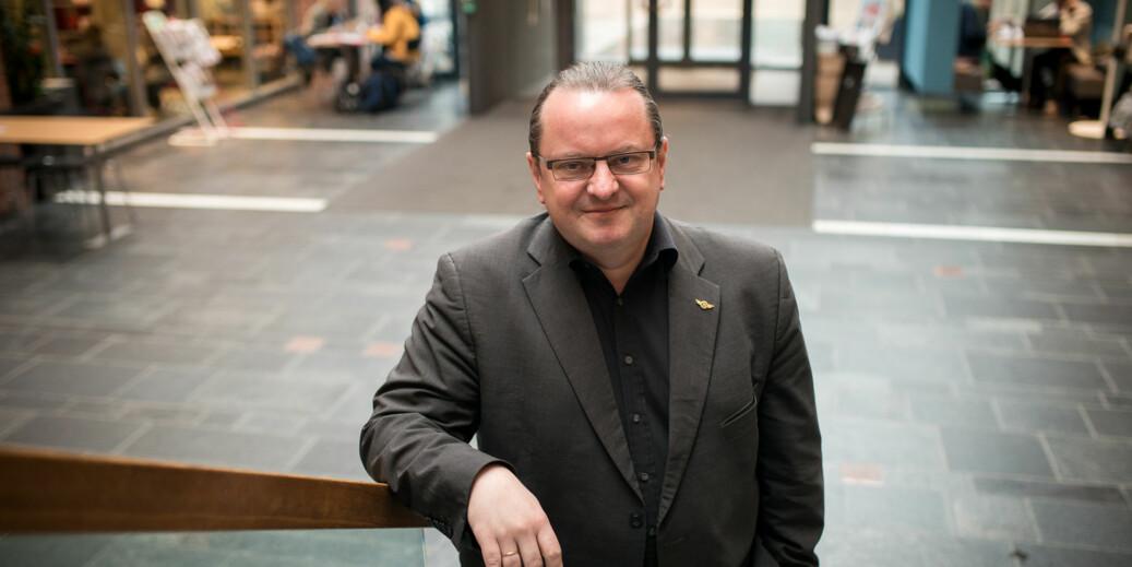 Professor Arne Krumsvik blir ny rektor ved Høyskolen Kristiania 1. august 2018.