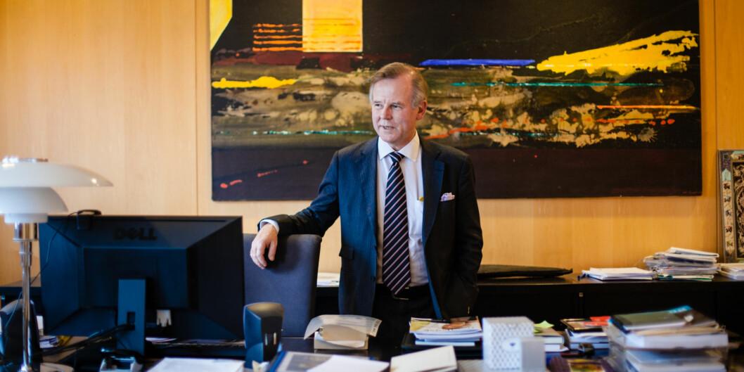 Rektor ved Universitetet i Oslo, Ole Petter Ottersen, går av etter to perioder neste år. Kan hende blir etterfølgeren hans en tilsatt og ikke valgtrektor. Foto: Wanda Nathalie Nordstrøm
