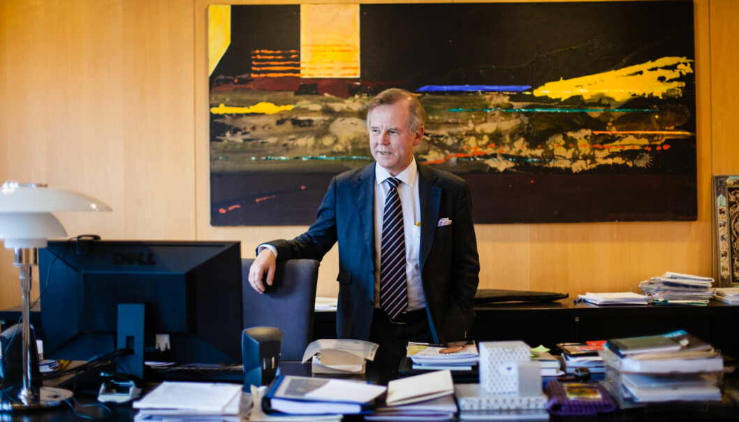 Ole Petter Ottersen, Rektor UIO. Foto: Wanda Nathalie Nordstrøm