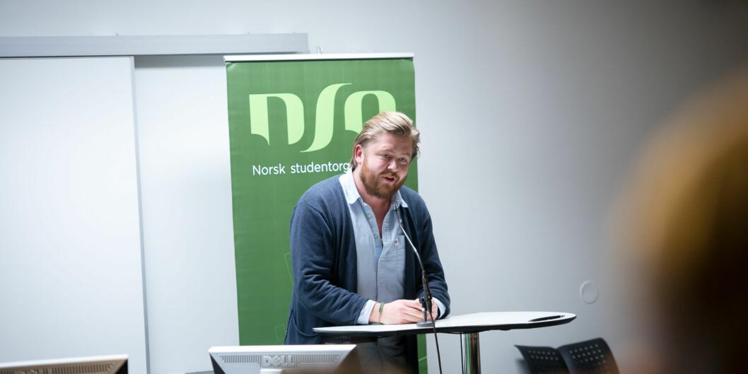 Rådgiver og tidligere studentpolitiker, Jens Folland, skriver at avisen På Høyden i Bergen bedriver en svertekampanje mot Khrono. Foto: Skjalg Bøhmer Vold