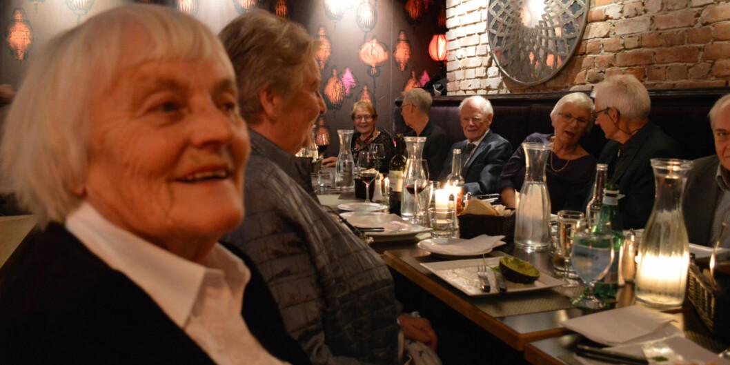 Ebba Lund gikk ut fra Kommunal- og sosialskolen for 50 årsiden.