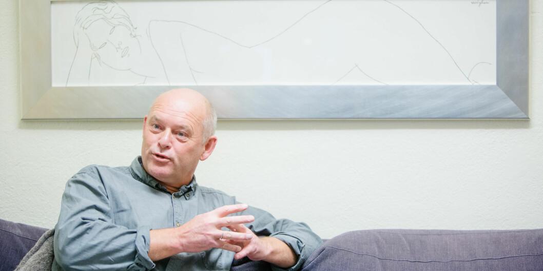 """Leder for Senter for profesjonsstudier (<span class=""""caps"""">SPS</span>), Oddgeir Osland, har klare tilbakemeldinger til høgskolen på hvilke kriterier som er viktig for framtidigorganisering. Foto: Eskil Wie"""