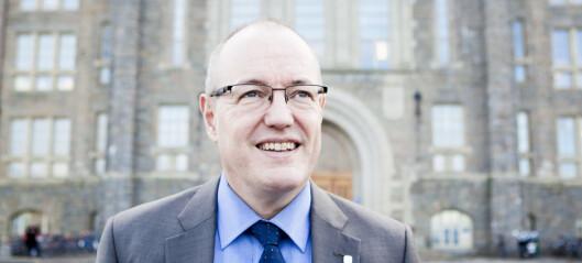 NTNU-rektoren holder appell i March for Science