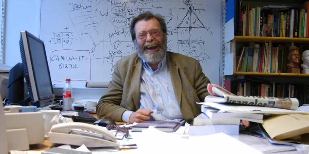 Frank Aarebrot var antakelig den mest synlige, produktive og betydningsfulle forskeren i norsk offentlighet dette tiåret, skriver Svein Sjøberg. Foto: Njord V. Svendsen