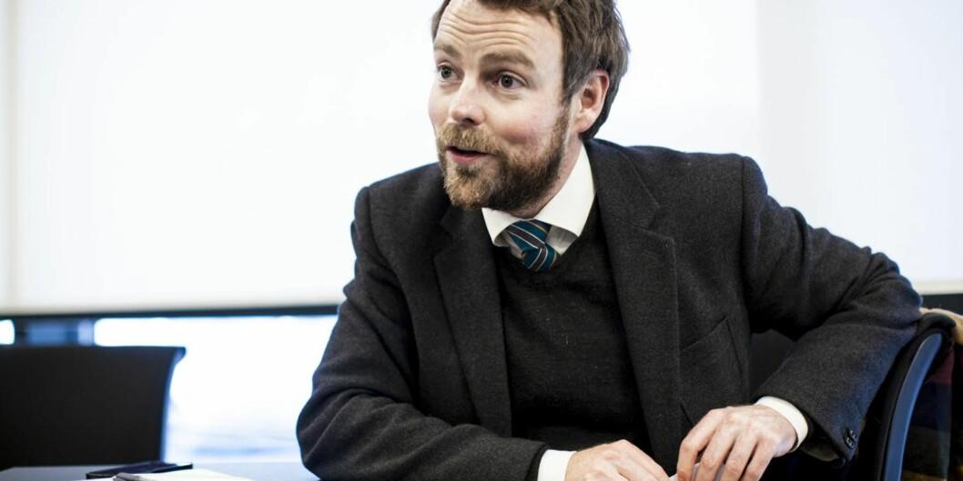 """Nyfusjonerte <span class=""""caps"""">NTNU</span> får oppmot 40.000 studenter: — Stort i norsk sammenheng, men ikke internasjonalt, mener Torbjørn RøeLarsen."""