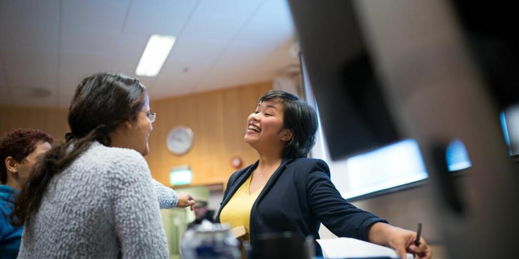 Tips til internasjonale studenter på karriereuka: Kos er viktig i den norskearbeidshverdagen.