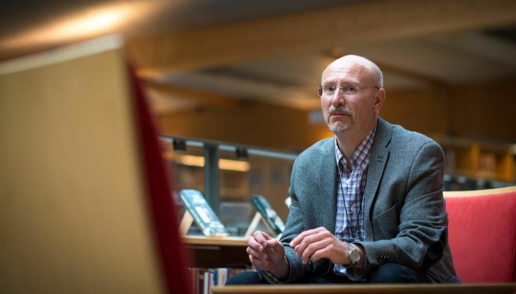 Studieleder Knut Boge på bachelorutdanningen i Facility Management er ikke fornøyd med eksamensresultatene fra forrige studieår, men regner med bedre resultater detteåret.