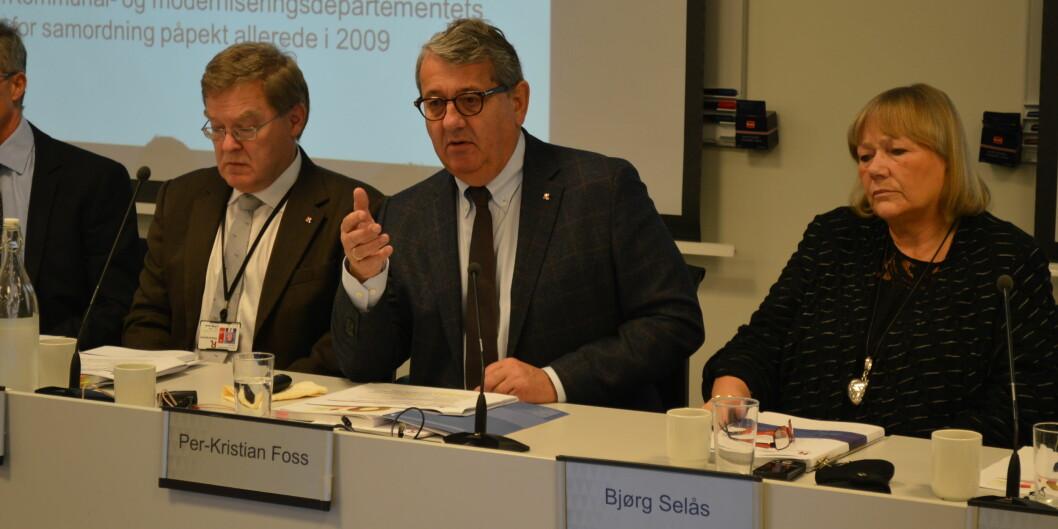 Riksrevisjonen, med riksrevisor Per Kristian Foss, kritiserer departementet for manglande oppfølging av private fag- og høgskolar siste 10år.
