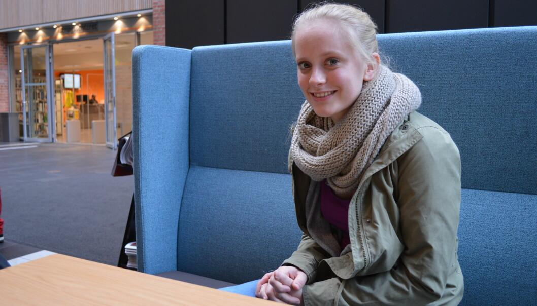 — Man tenker kanskje ikke over at irritasjon og dårlig oppmøte for noen kan handle om noe mer, sier student Ane LarsenMjøen.