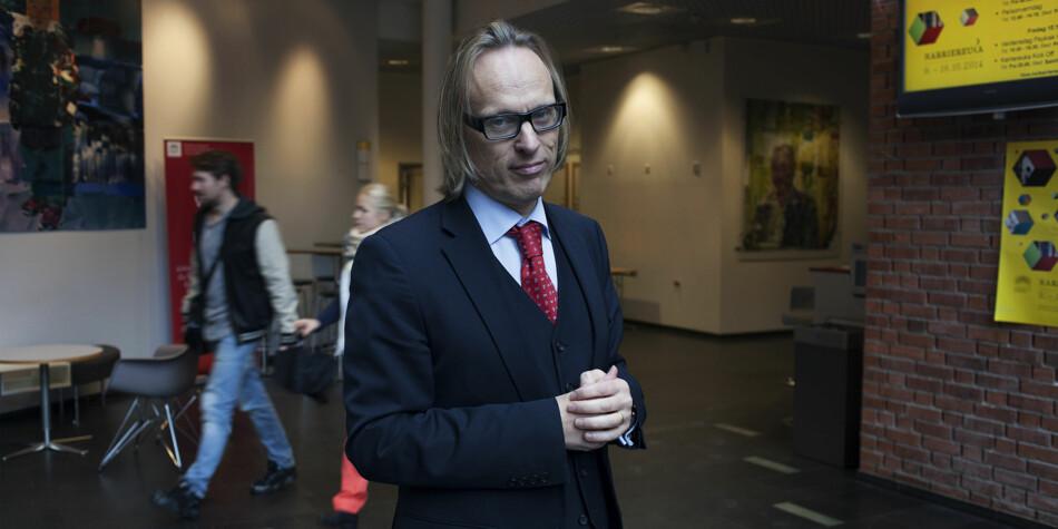 Prorektor Morten Irgens har 10 råd til digitaliseringsminister Nikolai Astrup. Foto: Evelyn Pecori
