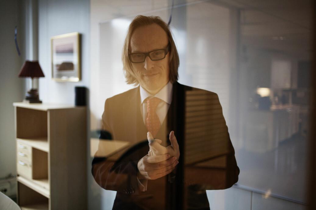 Prorektor for forskning ved OsloMet, Morten Irgens, tror kunstig intelligens vil bety store samfunnsendringer. Foto: Evelyn Pecori