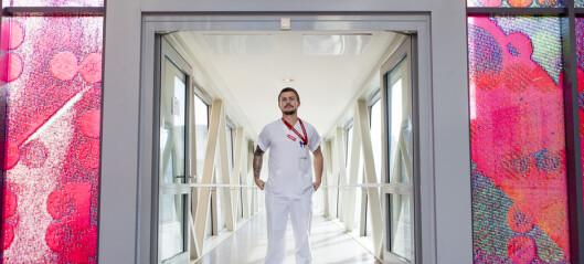 Pølsemaker ble sykepleier
