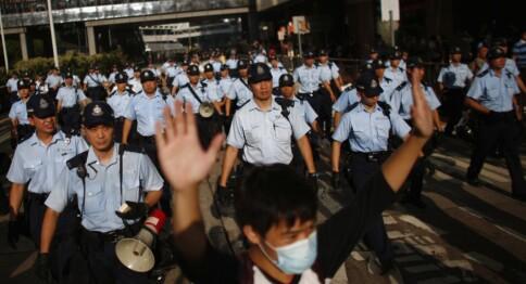 Stiller ultimatum for studenter i Hongkong