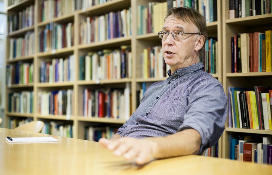 Historiker og forsker, Jan Messel (61), har fått sin første faste jobb etter 25 år i akademia. Foto: Wanda Nathalie Nordstrøm