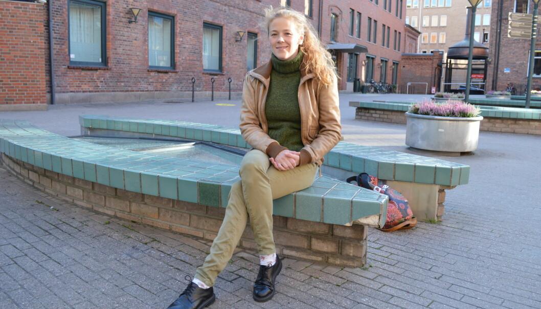 Cathrine Nordberg leder SAIH Bislet, og er klar for å jobbe med den nye kampanjen «Ta først, spørre etterpå». Den krever at oljefondet gjør bedre undersøkelser før de investerer iLatin-Amerika.