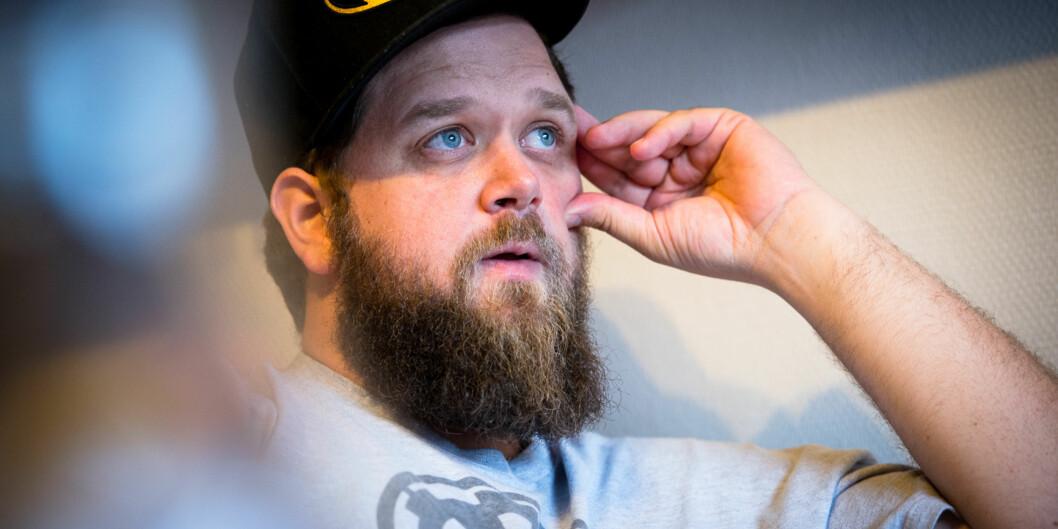 """Einar Belck-Olsen har diagnosen <span class=""""caps"""">ADHD</span>. Han var tidligere klinisk depressiv, men har kommet seg ut av depresjonen. 10. oktober arrangeres fagdag om psykisk helse, som han har tatt initiativtil. Foto: Skjalg Bøhmer Vold"""