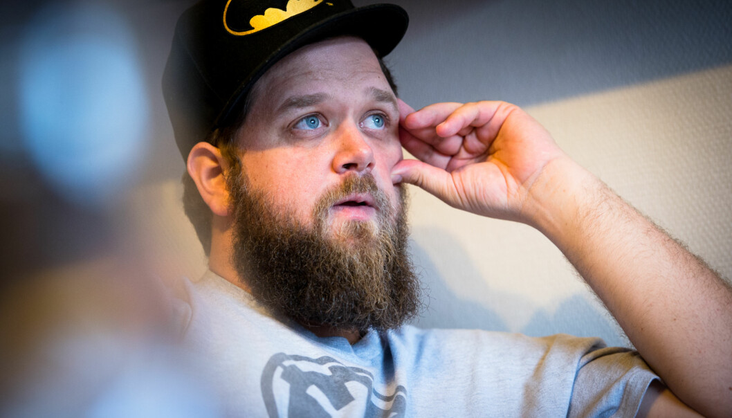 Einar Belck-Olsen har diagnosen ADHD. Han var tidligere klinisk depressiv, men har kommet seg ut av depresjonen. 10. oktober arrangeres fagdag om psykisk helse, som han har tatt initiativtil. Foto: Skjalg Bøhmer Vold