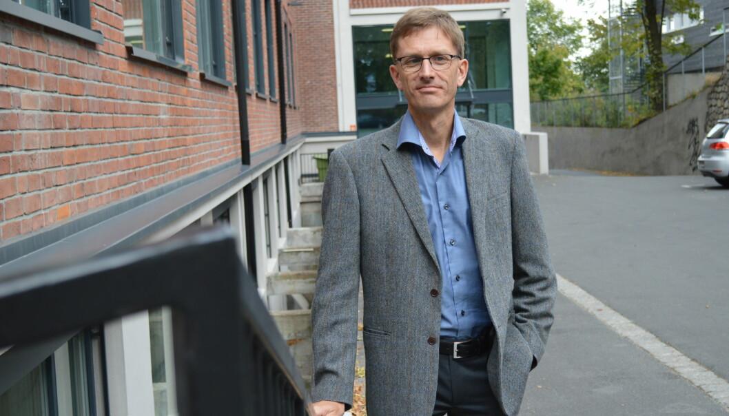 Til daglig er han forskningsdirektør i Statistisk sentralbyrå. For tiden leder Torbjørn Hægeland også kunnskapsministerens ekspertutvalg som skal revurdere finansieringsmodellen i høyere utdanning. FOTO: EvaTønnessen