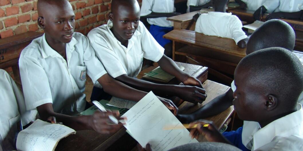 "Kyambogo universitetet i Uganda vil lære om undervisningsmetoder frå HiOA. <span class=""caps"">FOTO</span>: Kimberly Burns/<span class=""caps"">USAID</span>. Licensed under Public domain via WikimediaCommons."