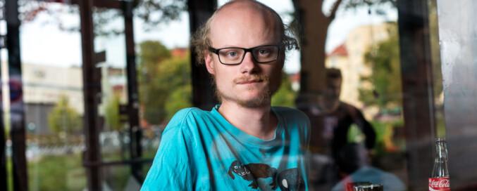 William Sæbø stiller til fag- og forskningspolitisk ansvarlig. Foto: Skjalg Bøhmer Vold