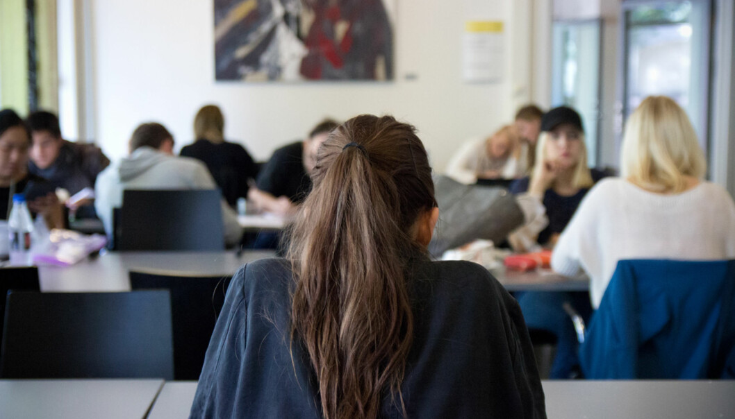 Nesten en av tre studenter er ofte ensomme viser nye tall fra Studentenes helse- og trivelsundersøkelse. Foto: Ismail Özkan
