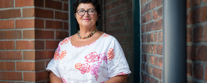 Instituttleder på yrkesfaglærerutdanningen Sidsel Øiestad Grande . Foto: Skjalg Bøhmer Vold