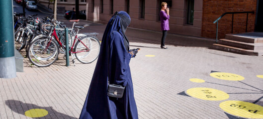 Rice mot nasjonalt niqab-forbud