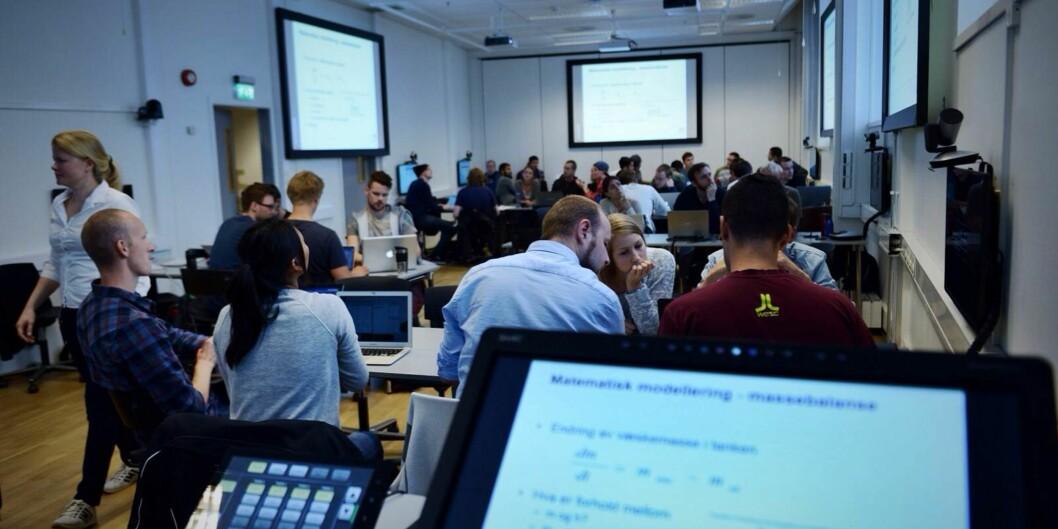 Høgskolens nye digitalestorstue.