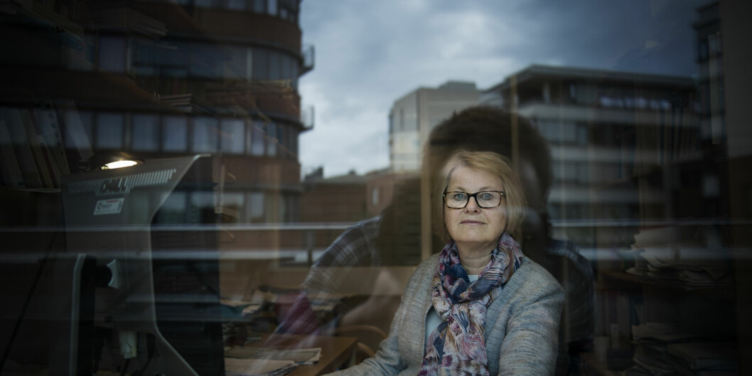 "Forsker på Høgskolen i Oslo og Akershus, Bente Abrahamsen, forteller at færre og færre sykepleiere vil jobbe deltid. <span class=""caps"">FOTO</span>: Benjamin A.Ward"