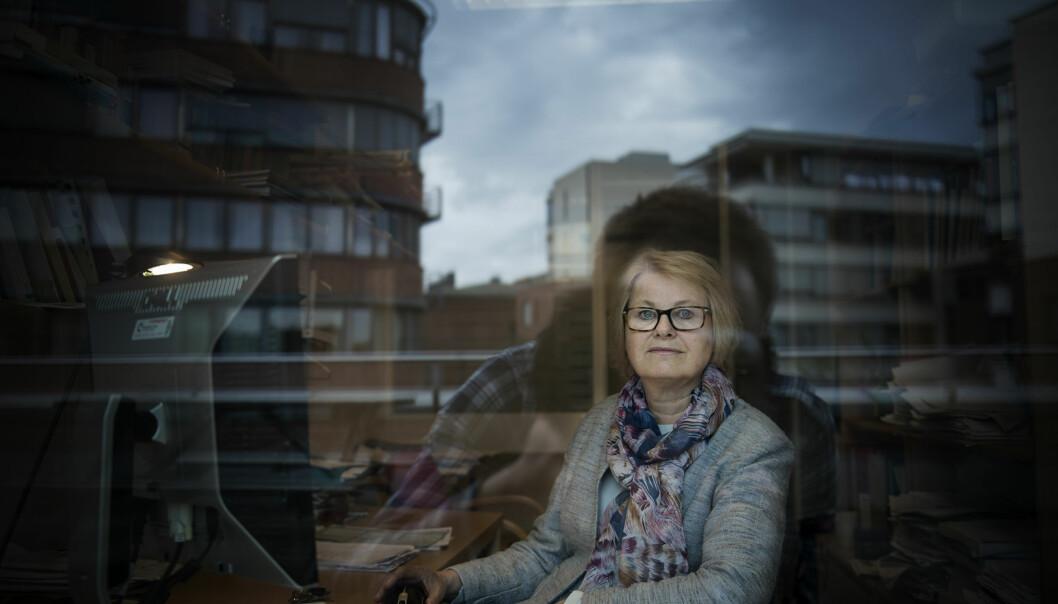 Forsker på Høgskolen i Oslo og Akershus, Bente Abrahamsen, forteller at færre og færre sykepleiere vil jobbe deltid. FOTO: Benjamin A.Ward