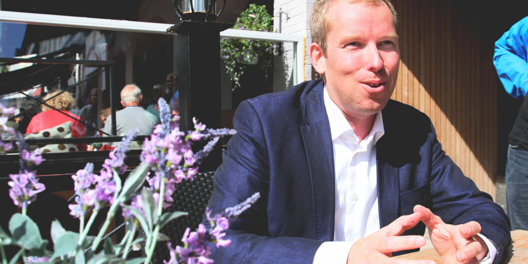 — Det er ikke gode ideer, men penger som mangler i Forsknings-Norge, sier Abelialeder Håkon Haugli. Foto: ElisabethGrosvold