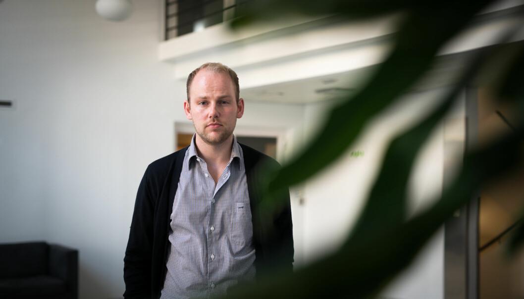 NSO-leder Anders Kvernmo Langset har store forventninger til kunnskapsminister Torbjørn RøeIsaksen. Foto: Skjalg Bøhmer Vold