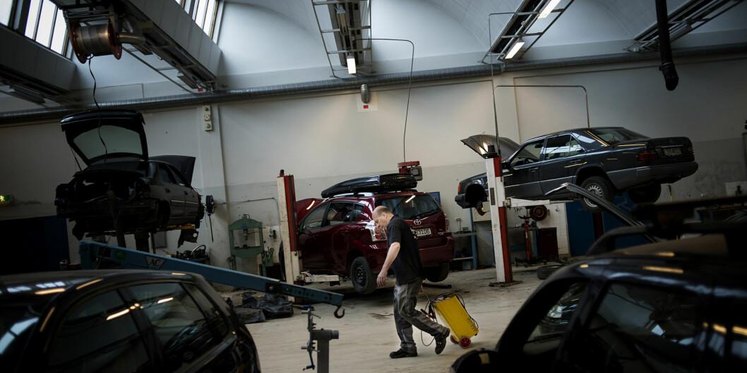 Frå utdanninga for yrkesfaglærarar på OsloMet. Foto: HiOA/OsloMet