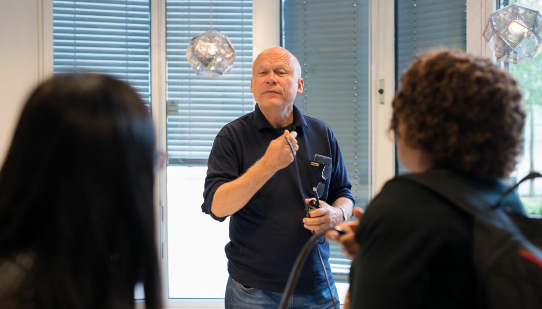Er det sektoren som skal eie egne data, den enkelte institusjonen eller er det opphavspersonen, spør Helge Høivik. Foto: Skjalg Bøhmer Vold