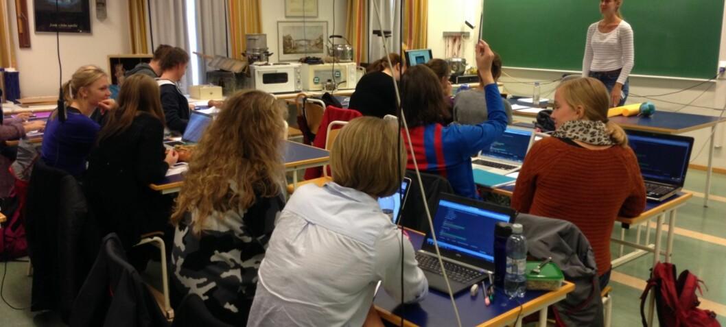 Seniorar ut mot femårig obligatorisk lærarutdanning
