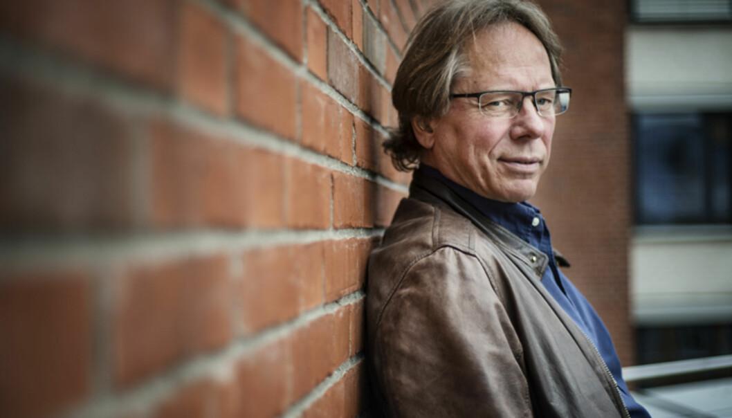 Lars Inge Terum ved Høgskolen i Oslo og Akershus. Foto: Benjamin A. Ward / HiOA Foto: BENJAMIN A. WARD